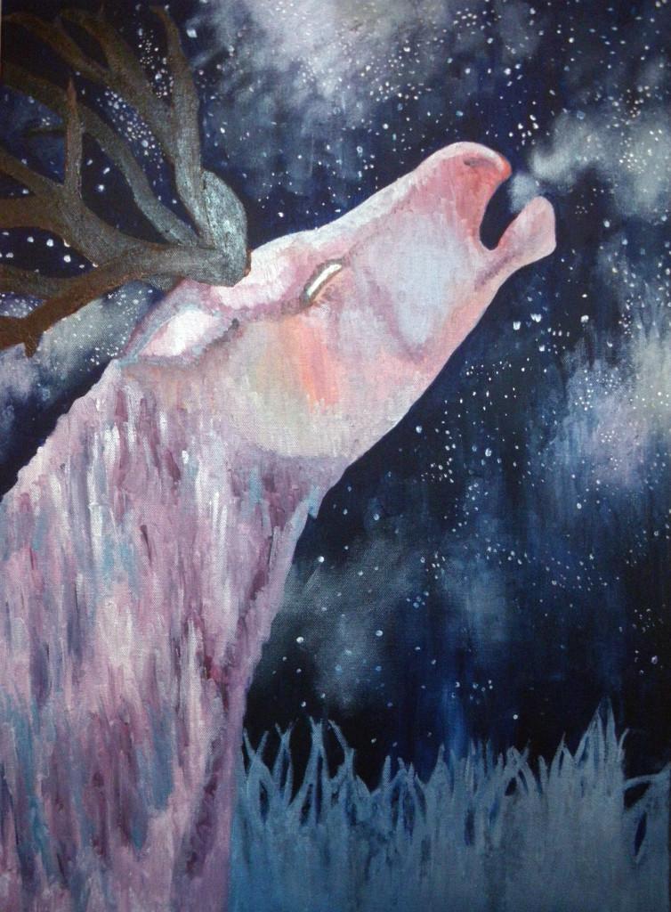 Hurle, chante, à en faire tomber les étoiles.